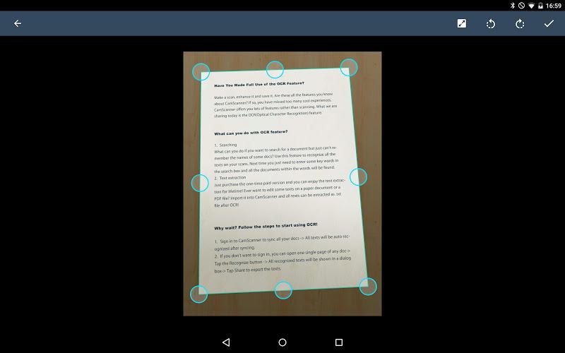 CamScanner - Phone PDF Creator Screenshot 9