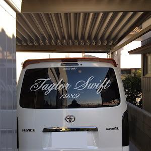 ハイエース  スーパーGL5型ダークプライムのステッカーのカスタム事例画像 kurosuさんの2019年01月11日18:50の投稿