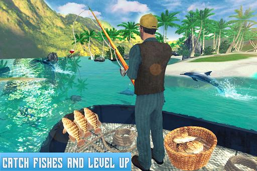 Boat Fishing Simulator: Salmon Wild Fish Hunting apkpoly screenshots 5