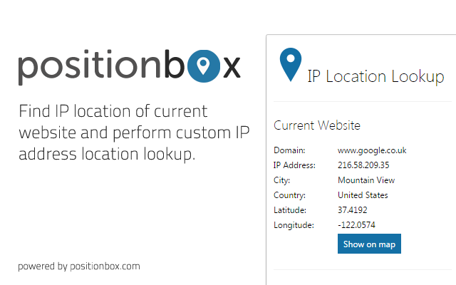 IP Location Lookup Tool