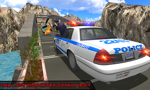 Offroad US police Car City Highway Chase crime sim - náhled