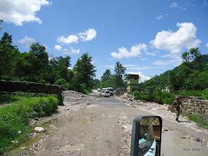 Photo: Rough roads ahead
