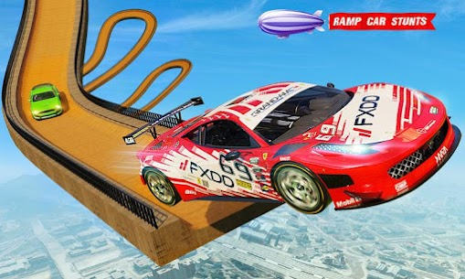 منحدر سباق السيارات المثيرة لعبة السيارات المتطرفة 5