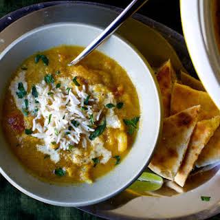 Indian-Spiced Cauliflower Soup.