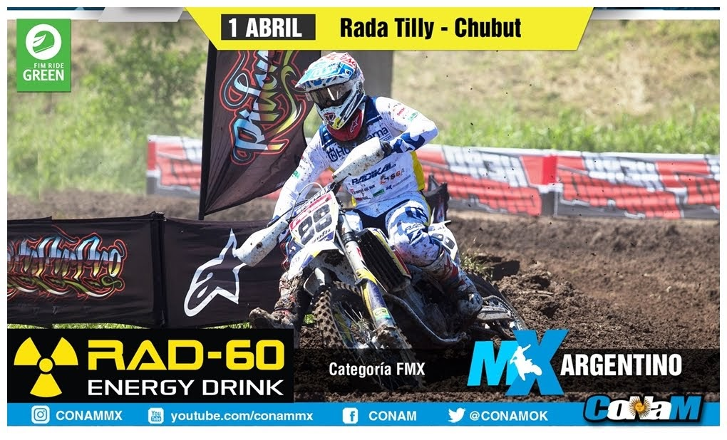 Ya está el banner para la fecha de Rada Tilly