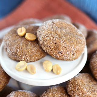 Healthy Chewy Peanut Butter Cookies (gluten free, low sugar, high protein).