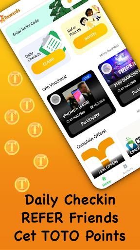 TOTO Rewards - Play Games & Win Cash App