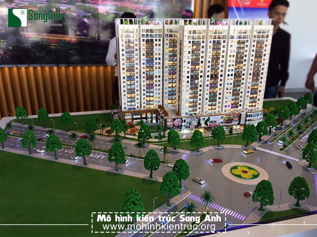 Mô hình kiến trúc căn hộ High Intela