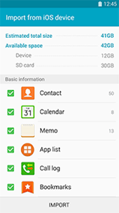 Samsung Smart Switch Mobile - screenshot thumbnail