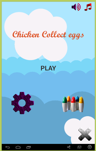 Chicken Collect eggs