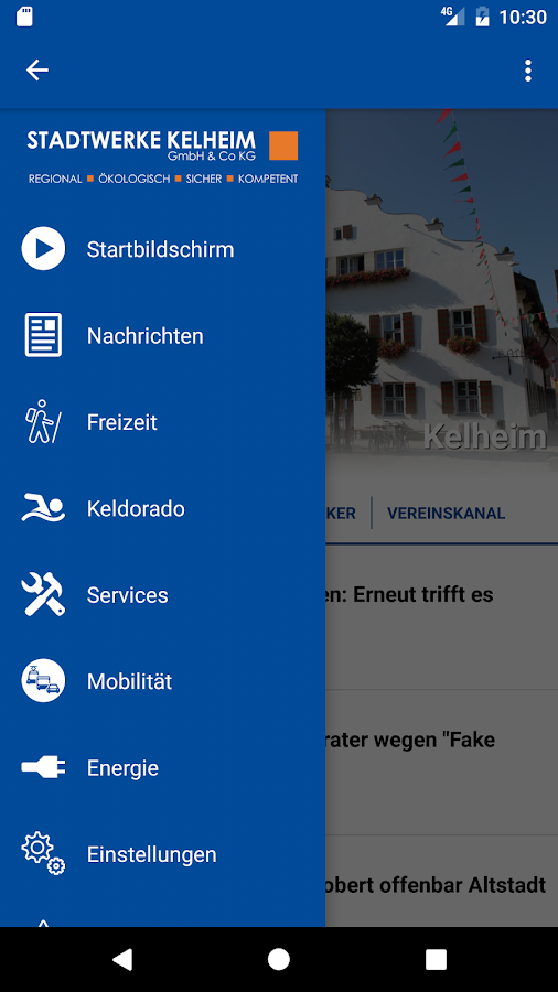 mein kelHEIM – Screenshot