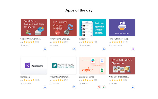 Google Workspace Marketplace™ essential apps