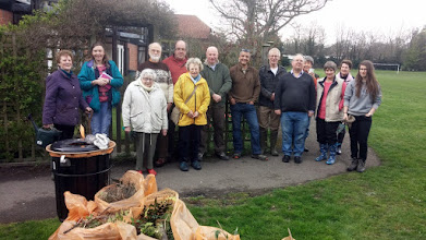 Photo: Recreation Ground Working Party 16th April 2016