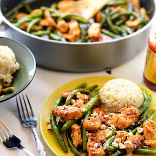 Healthy Kung Pao Chicken.