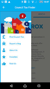 Council Tax Finder App- screenshot thumbnail