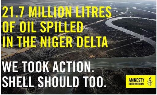 Email to Ben van Beurden regarding OML 25 in Niger Delta, Nigeria