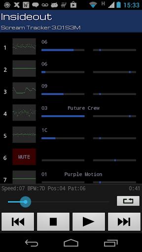 Xmp Mod Player 4.12.0 screenshots 3