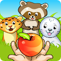 Zoo Playground: Kids game set icon