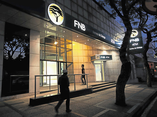 An FNB branch. File photo