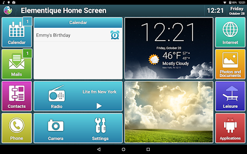 Elementique - Launcher screenshot 8