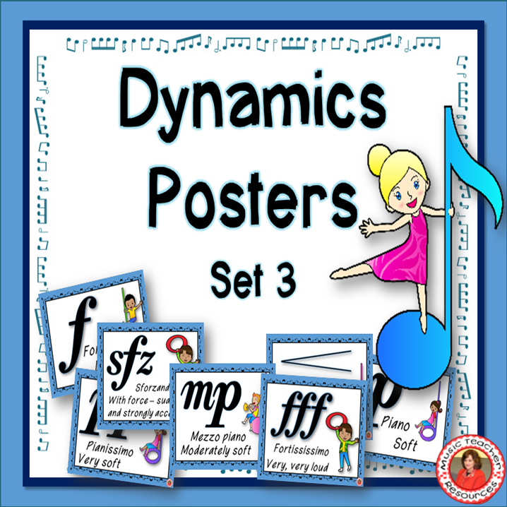 A set of free dynamics posters to download. ♫ CLICK through to see the set and download! ♫