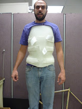 Photo: Clam shell back brace donated by Anchor Orthotics and Prosthetics.