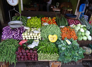 Photo: Matale Veggie Stand Flowers Spices & Fruits At Bawa's Place Matale Sri Lanka by Lou Wilson http://www.youtube.com/watch?v=nvgc_SYJgeY&list=UUOWXy3pH6EQJsCMU4_wseBA&index=4&feature=plcp