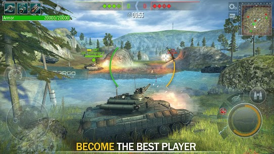 Tank Force: Modern Military Games Mod Apk (One Hit Kill) 2