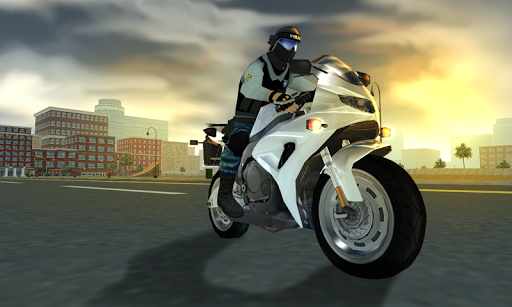 Police Motorcycle Crime Sim screenshot 8