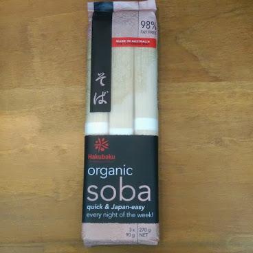 Hakubaku ORGANIC Soba noodles