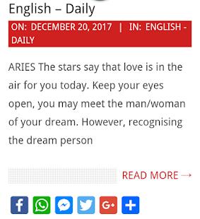 24x7 Horoscope - náhled