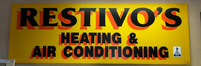 Photo: Restivo's Heating & Air Conditioning, LTD. in Johnston, RI proudly displaying their BBB Accreditation.