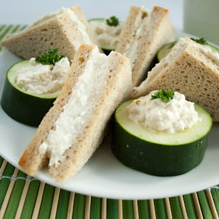 Benedictine Tea Sandwiches.