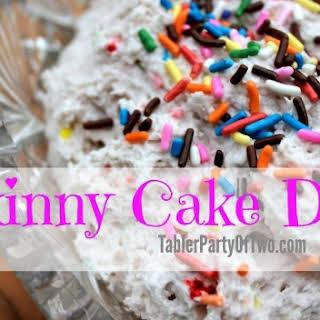 Skinny Cake Dip with Yoplait Greek 100 Whips!.