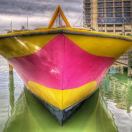 by Edward Allen - Transportation Boats