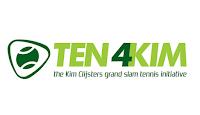 Kim Clijsters Kim is a proud ambassador of Ten 4 Kim