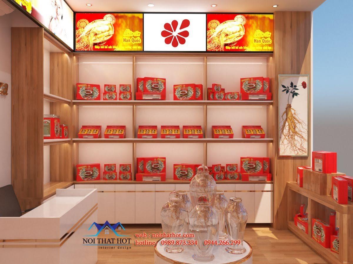 Thiết kế cửa hàng sâm Ginsenplaza.com 4