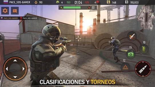 Striker Zone: 3D Online Francotirador Armas Juegos