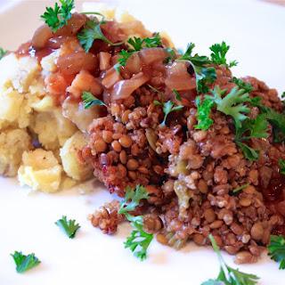 Lentil, Mushroom, & Quinoa Loaf with Bourbon BBQ Glaze