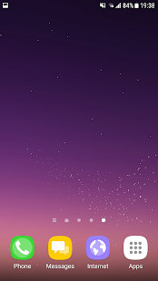 S8 Live Wallpaper Screenshot