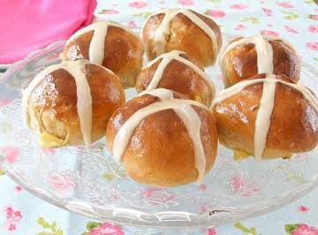 Bread Machine Hot Cross Buns for Easter or Ostara