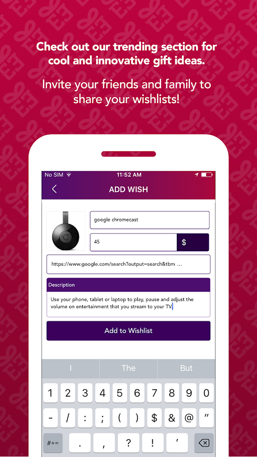 Gift Jeenie  Gifting App- screenshot