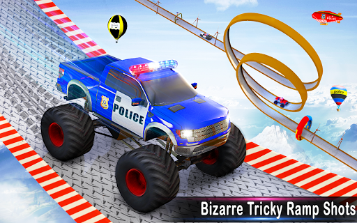 Police Ramp Car Stunts GT Racing Car Stunts Game 1.3.0 screenshots 11