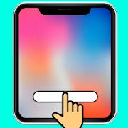 Swipe to back -Navigation Gesture Swipe Home Bar