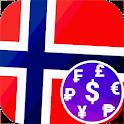 Fast Norwegian Krone NOK currency converter 🇳🇴 icon