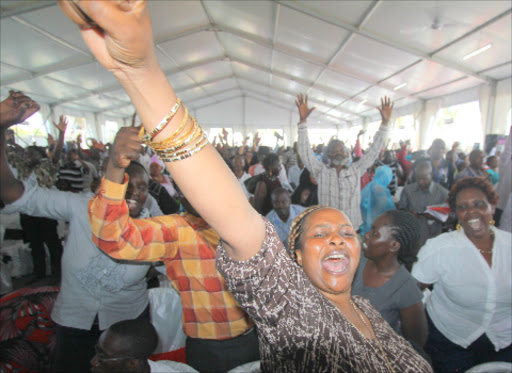 MCAs celebrate in Mombasa after President Uhuru Kenyatta said they would get car grants