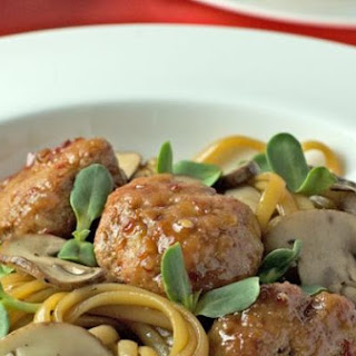 Spaghetti and Meatballs Chinese Style