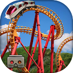 Crazy Roller Coaster VR Tour Icon