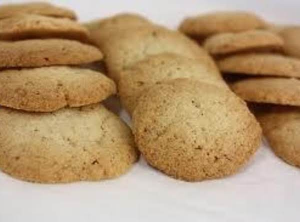 Whole Wheat Vanilla Wafers Recipe