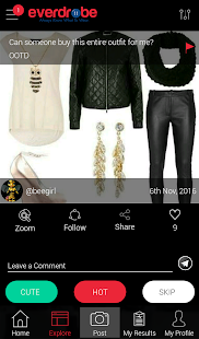 Everdrobe: Social Wardrobe- screenshot thumbnail